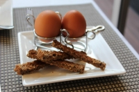Boiled Eggs with Soldiers