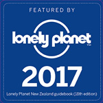 Featured in Lonely Planet 2017